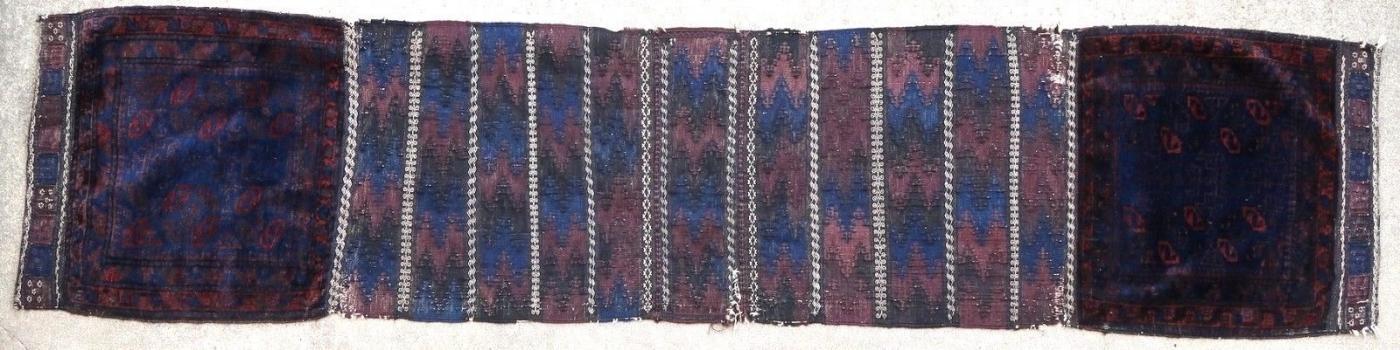 Afghan rug/bag face Baluch 1900
