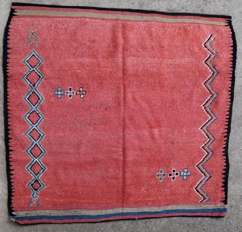 Moroccan rug Ouled Bou Sbaa 1930