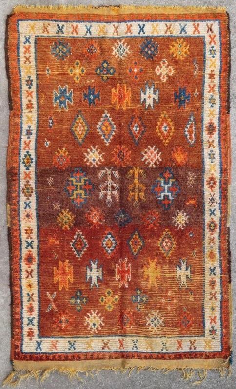 Moroccan rug Ait Ouaouzguit 1900