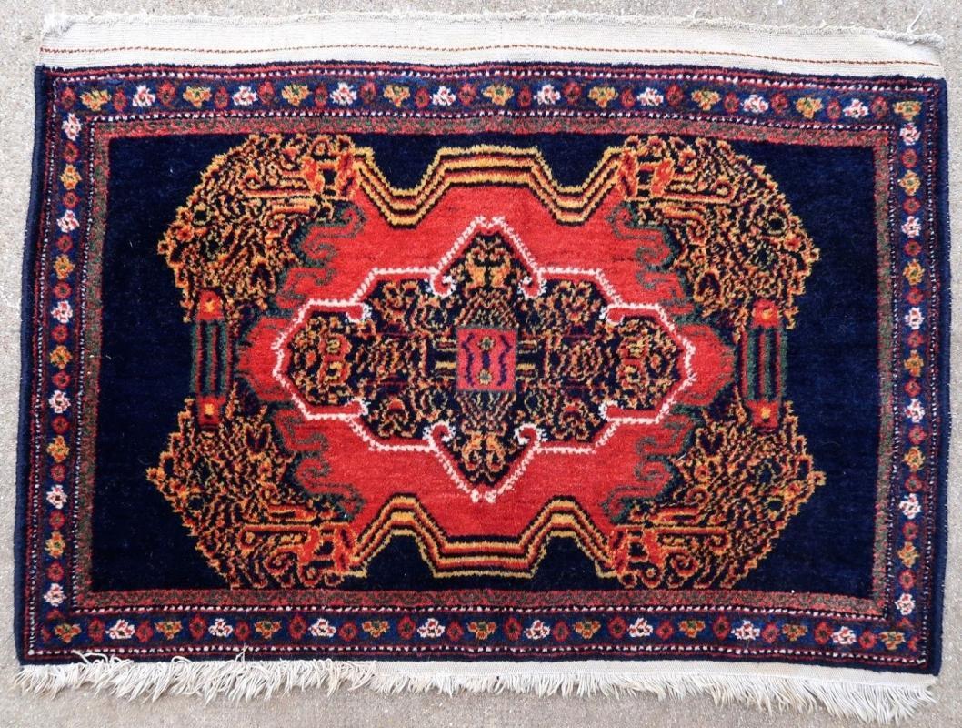 Persian rug Senneh 1950