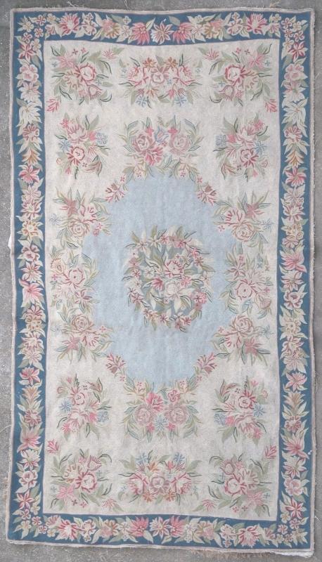 Indian rug Kashmir 1950