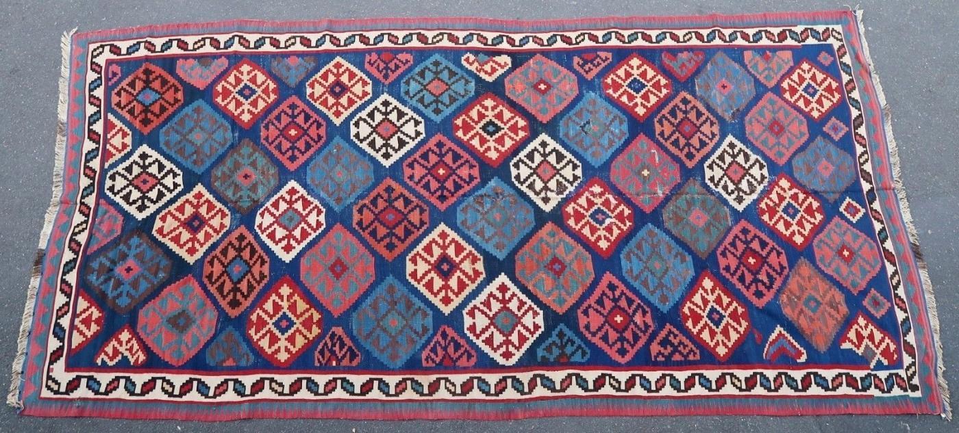 Persian kilim Shahsavan 1900