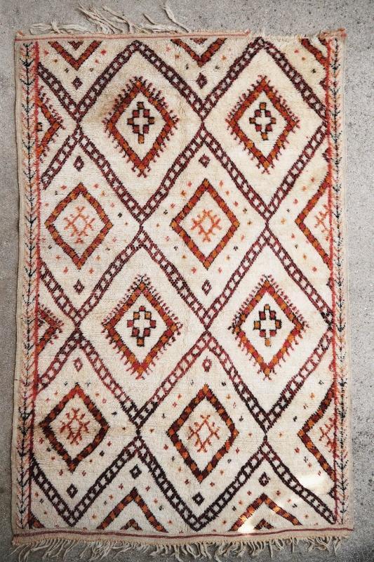 Moroccan rug 1900