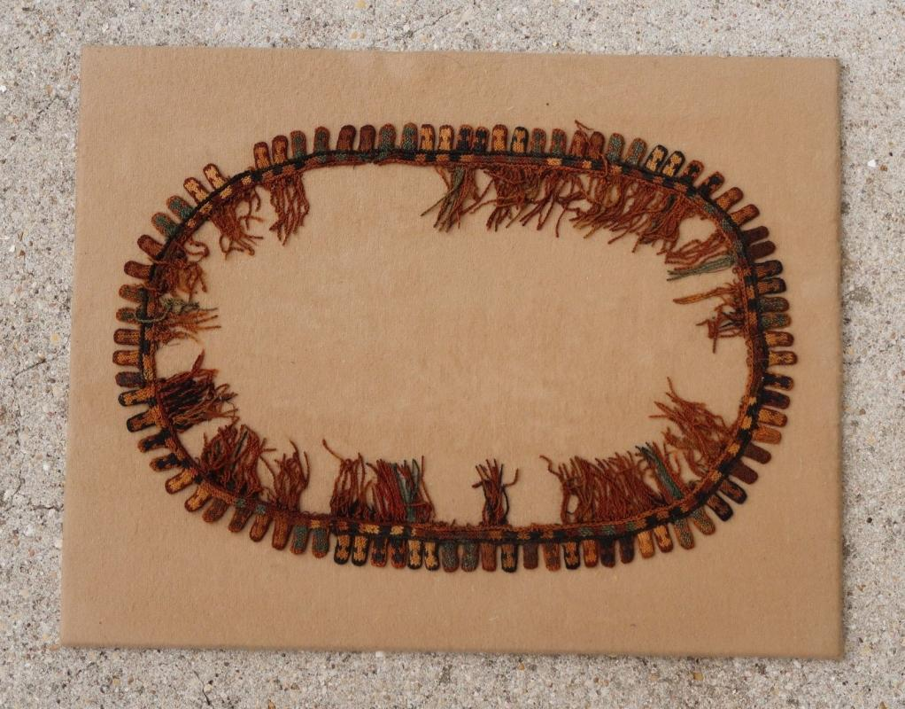Proto Nazca poncho border Pre-Columbian