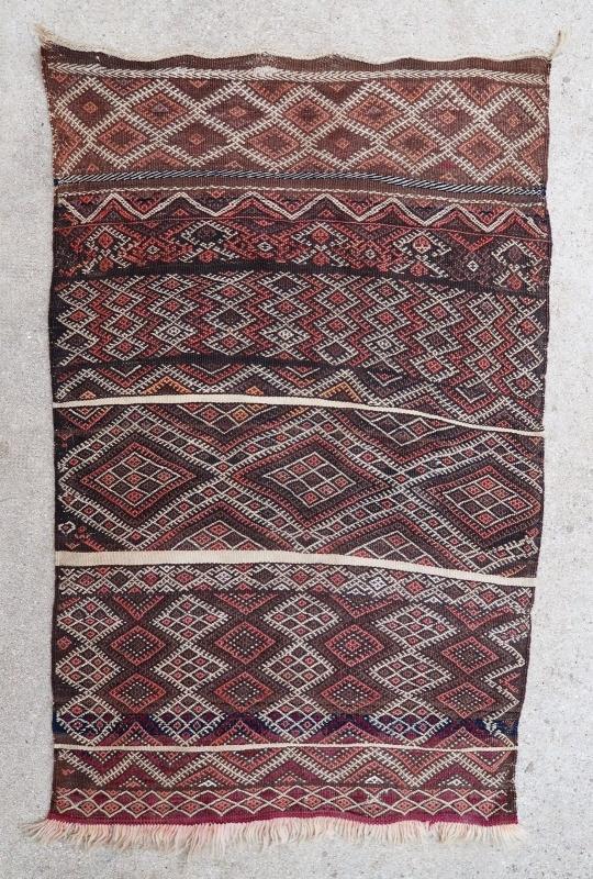 Moroccan kilim Ait Youssi 1950