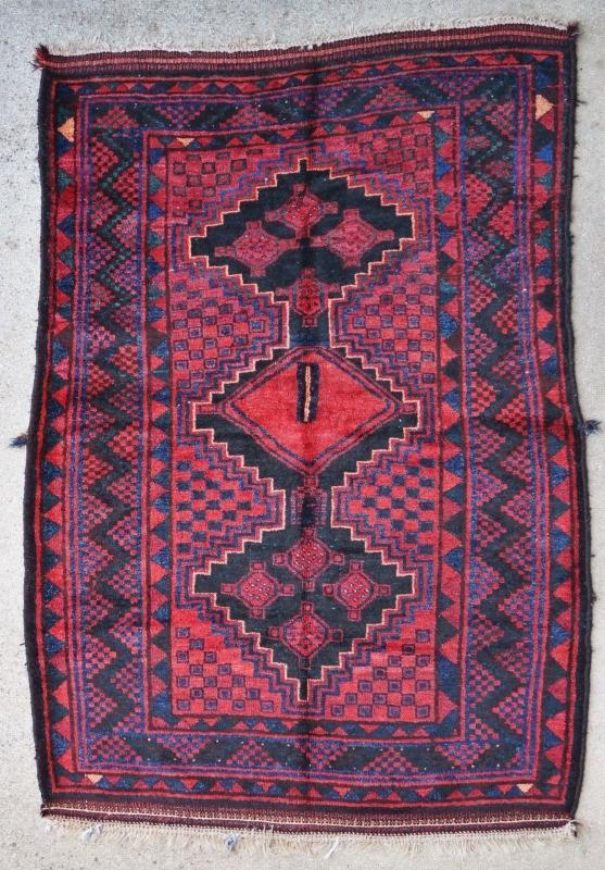 Persian rug Lori 1900
