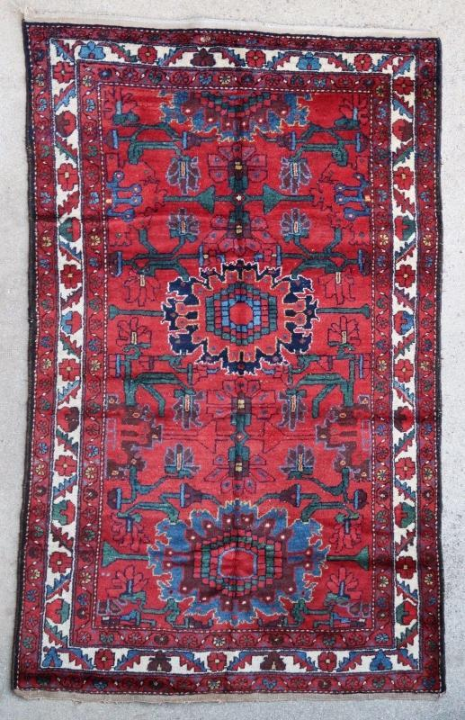 Persian rug Hamadan 1950