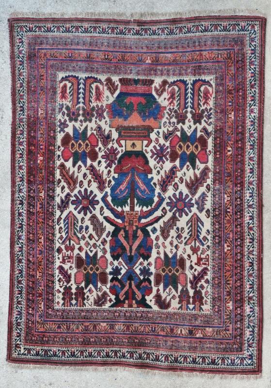 Persian rug Afshar 1900