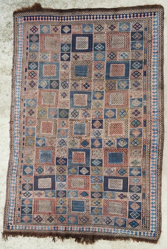 Caucasian rug Verneh 1900