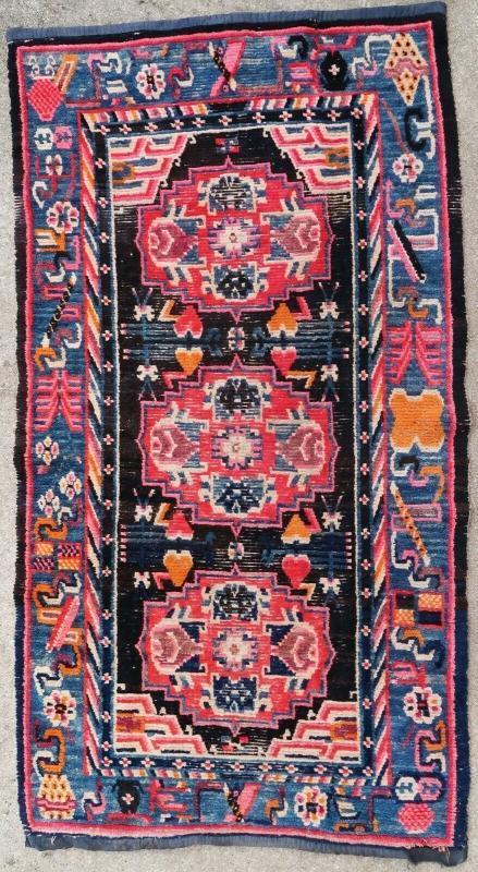 Tibetan rug 1900