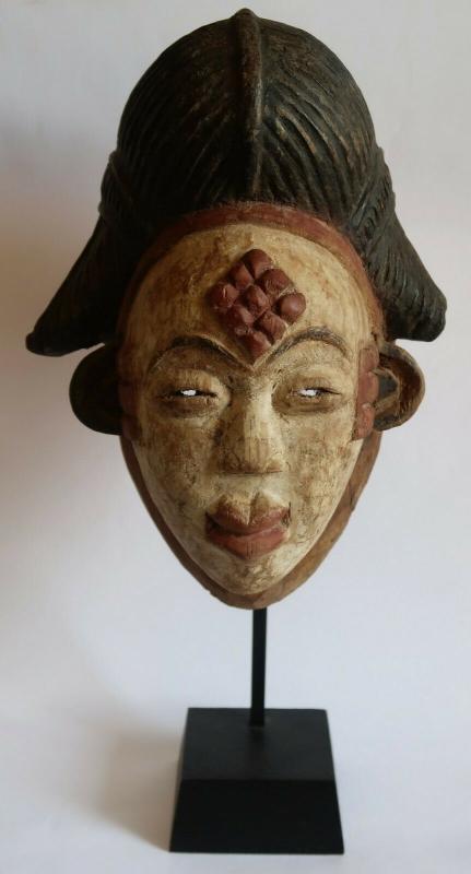 Cameroonian mask Punu 1980