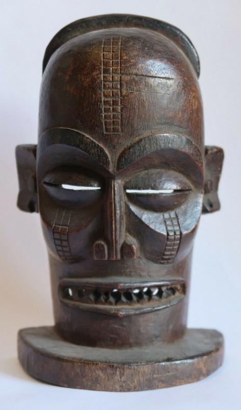 Angolan/Congolese mask Chokwe 1950