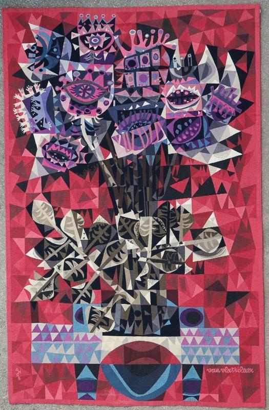 Belgian tapestry Braquenie Julien Van Vlasselaer 1970