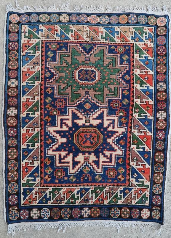 Caucasian rug Shirvan/Lesghi 1900