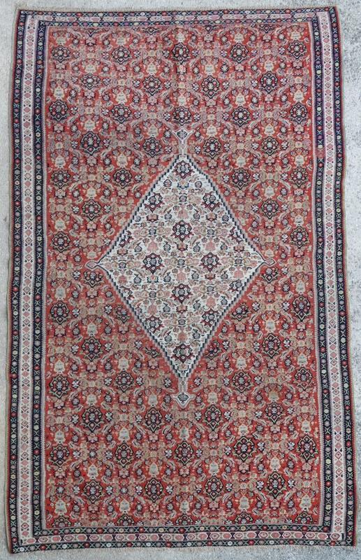 Persian kilim Senneh 1900