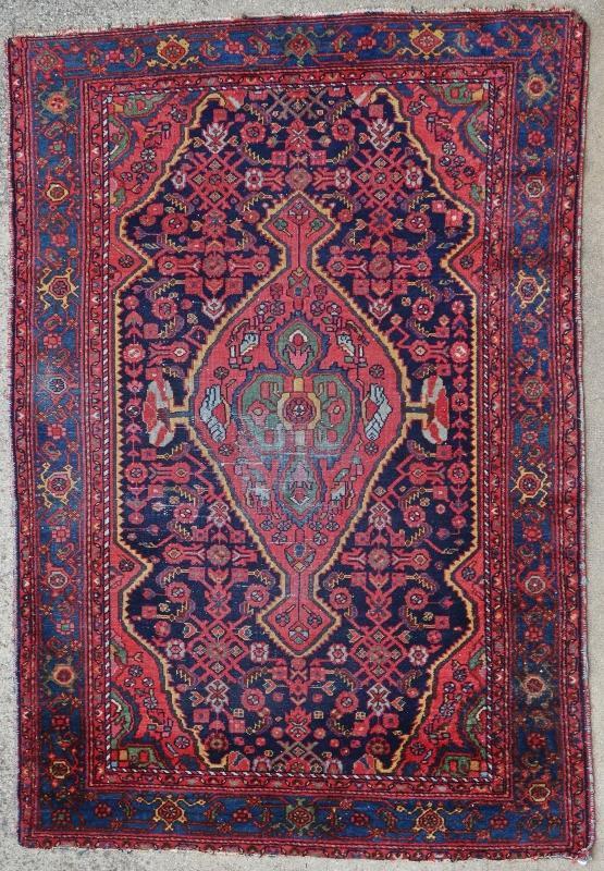 Persian rug Hamadan 1900