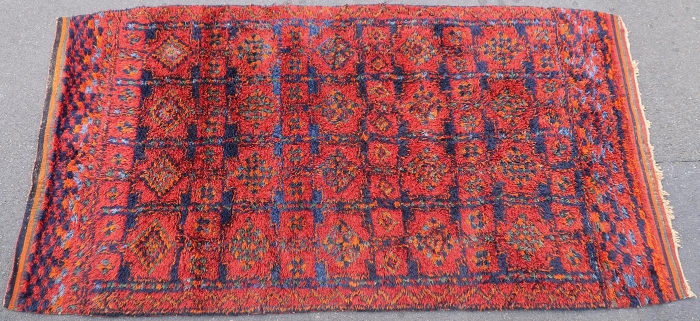 Kurdish rug 1950