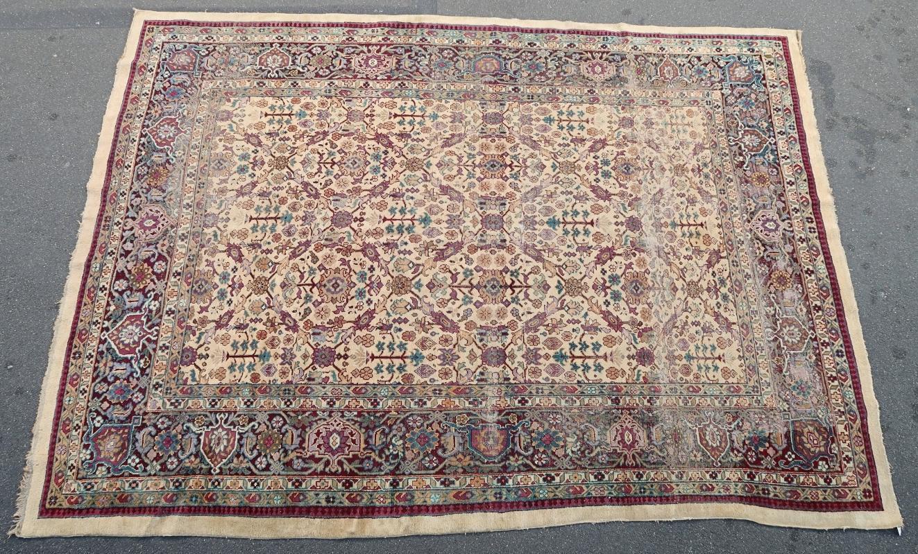 Indian rug 1900