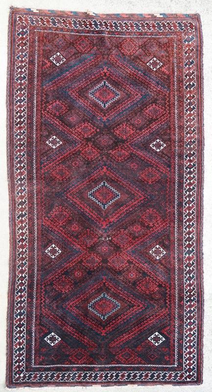 Afghan rug Baluch 1900