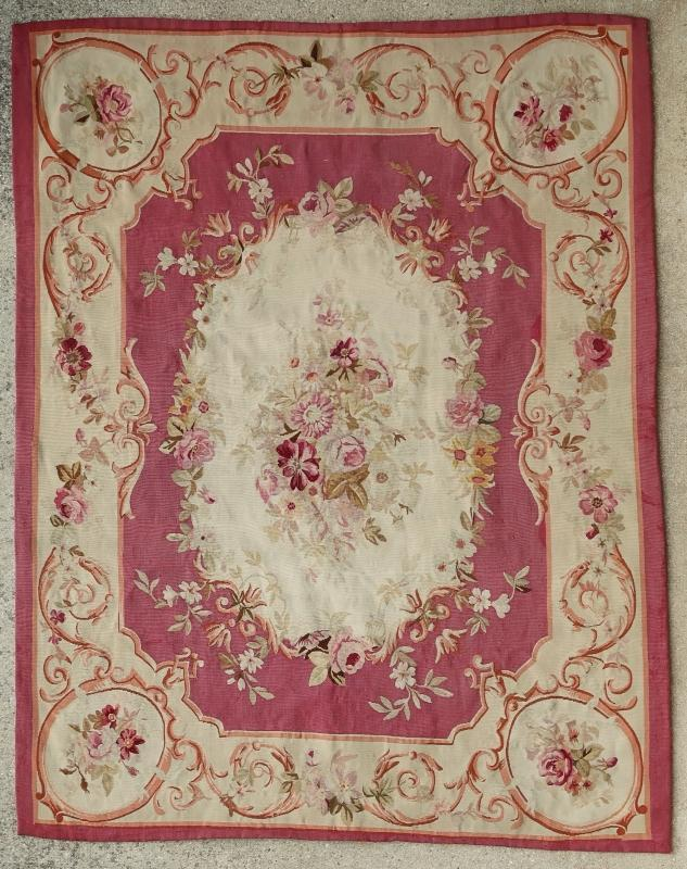 French rug Aubusson 1850