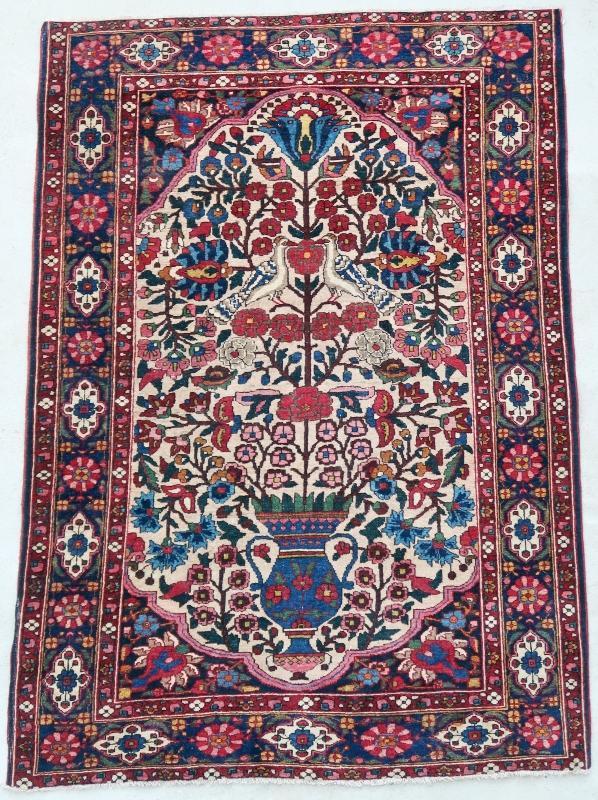 Persian rug Bakhtiari 1900