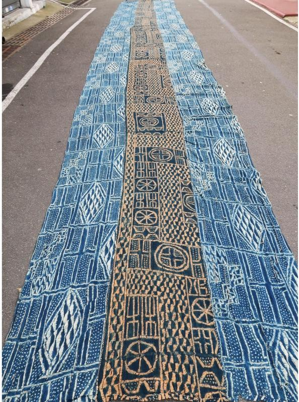 Cameroonian textile Bamileke 1950