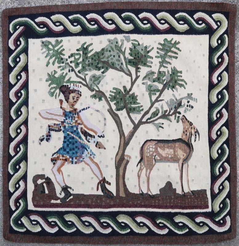 Tunisian tapestry 1960