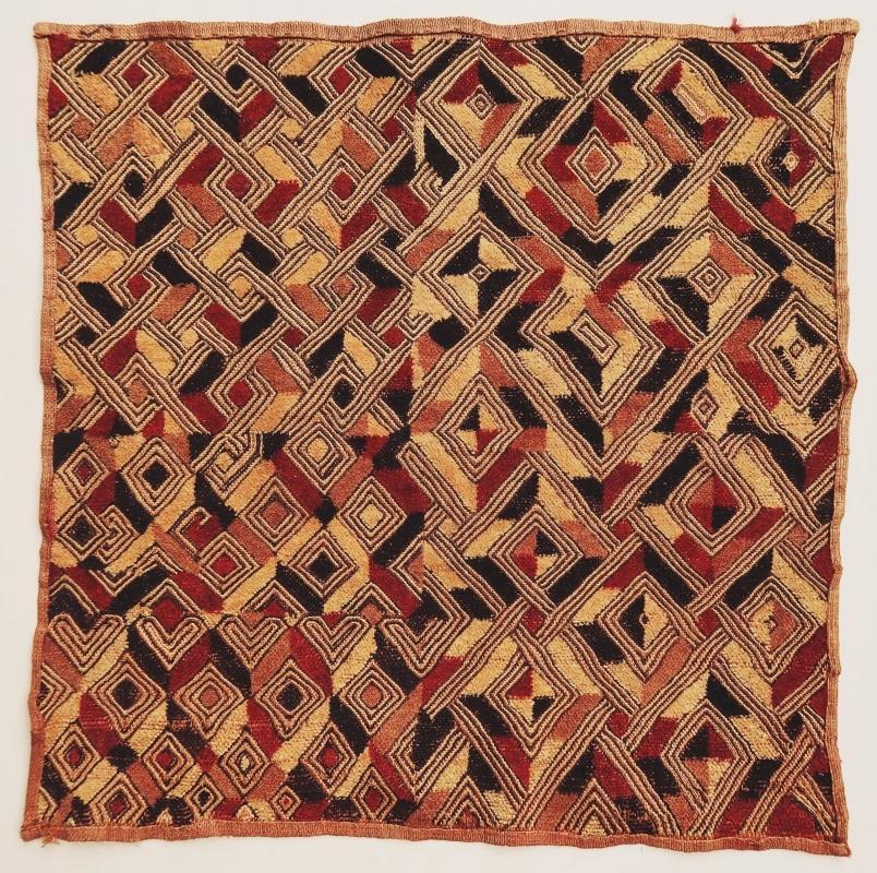 Congolese Kuba cloth Shoowa 1950