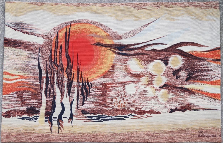 French tapestry Lartigaud 20th century