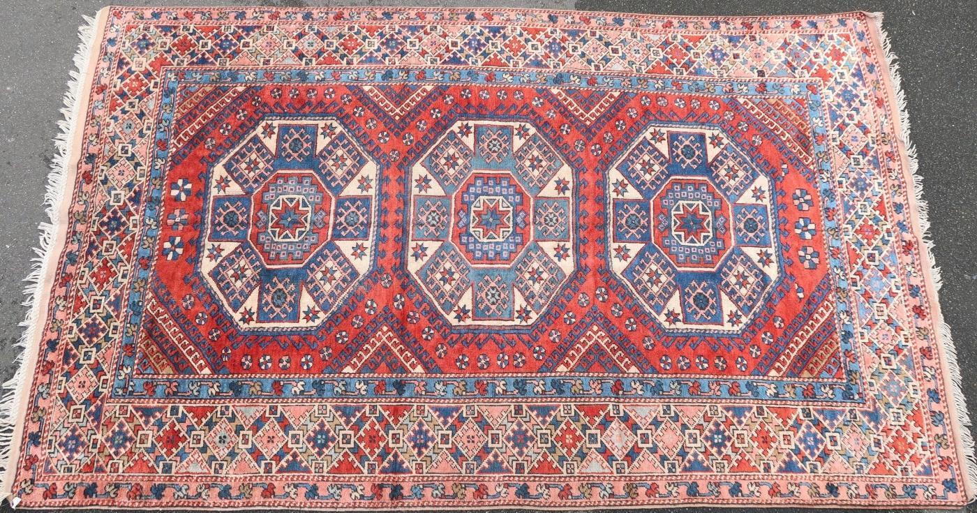 Anatolian rug Bergama 1950