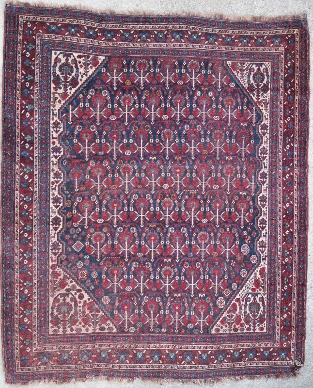 Persian rug Ghashghai 1900