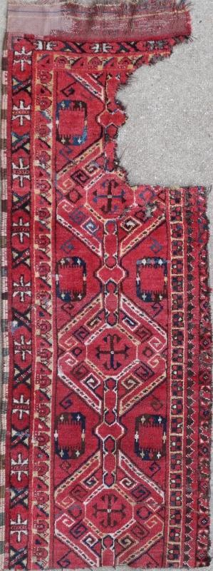 Central Asian rug Bashir 1850