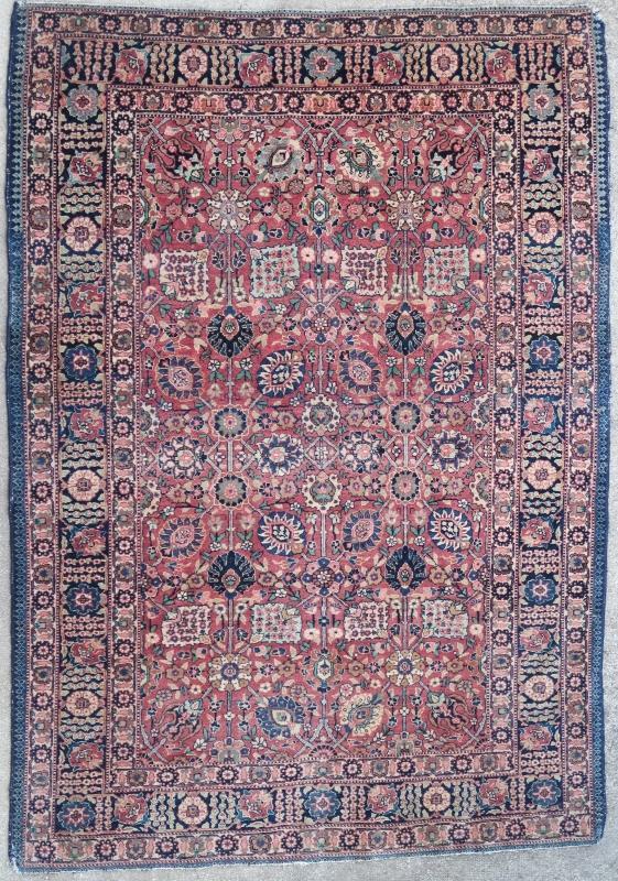 Persian rug Kashan 1950