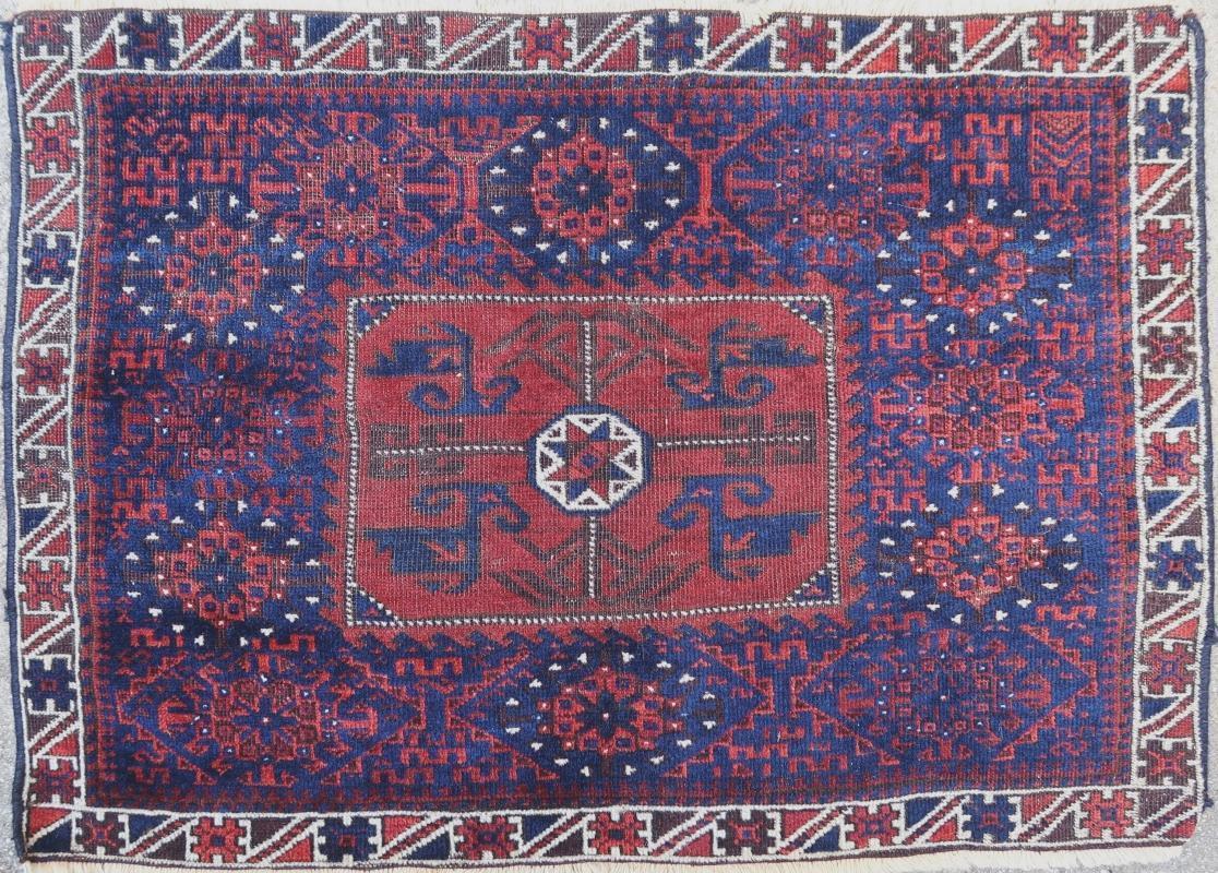 Central Asian pillow Baluch 1900