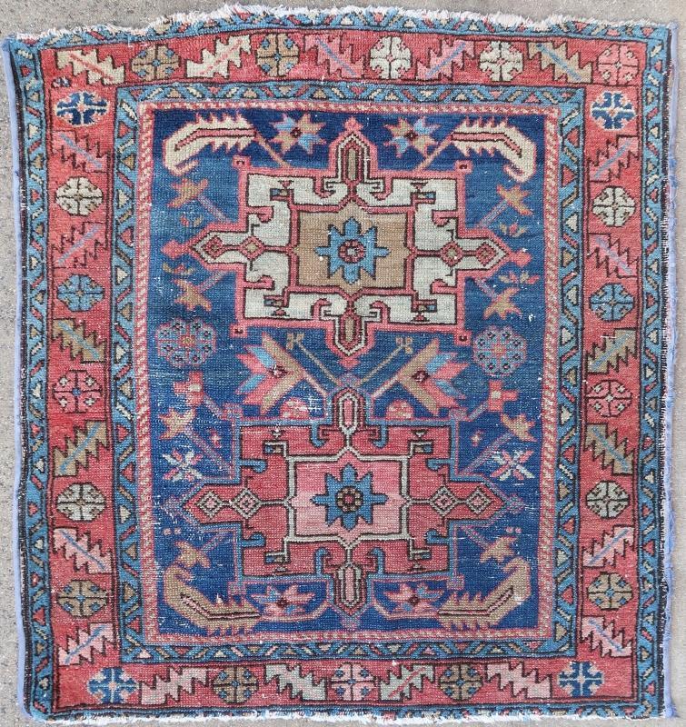 Persian rug Heriz Yoravan 1900