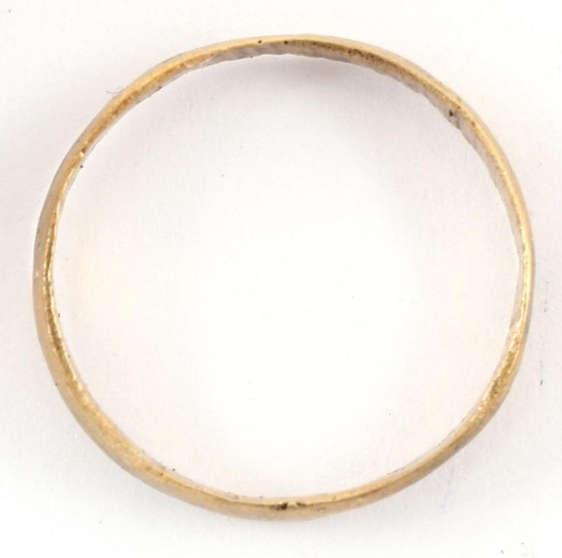Size 9 Ancient Viking Wedding Ring Late 9th-early 11th century AD. Authentic Ancient Jewelry