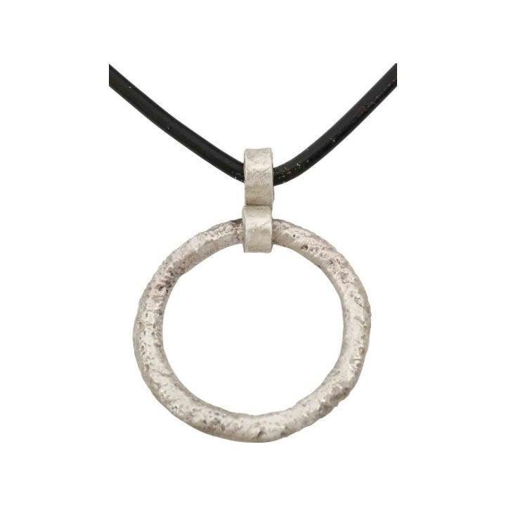 Ancient Celtic Prosperity Ring Necklace C.400-100 BC