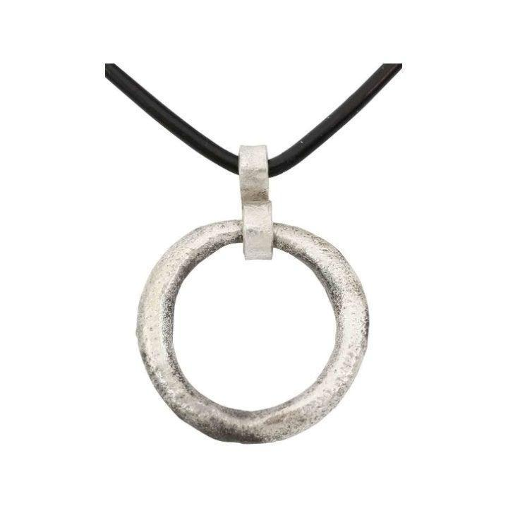 Ancient Celtic Prosperity Ring Necklace C.400-100 BC.