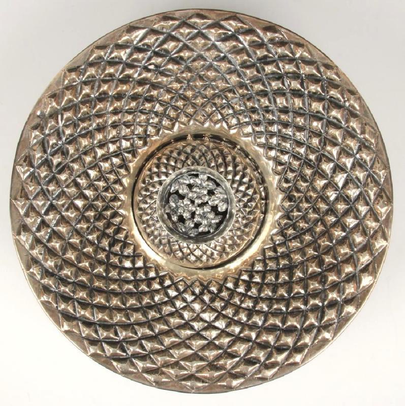 Antique Islamic Armenian Silver Ewer and Basin (Samit and Konk)