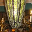 Tiffany Studios Style Turtleback Hanging Lamp Lantern