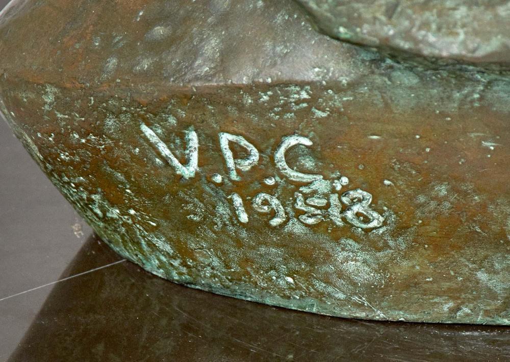 Vasco Pereira da Conceição Bronze Bust
