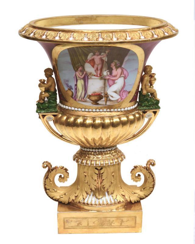 Darte Paris Porcelain Vase