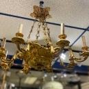 Louis XV Style Gilt Bronze 8-Light Chandelier