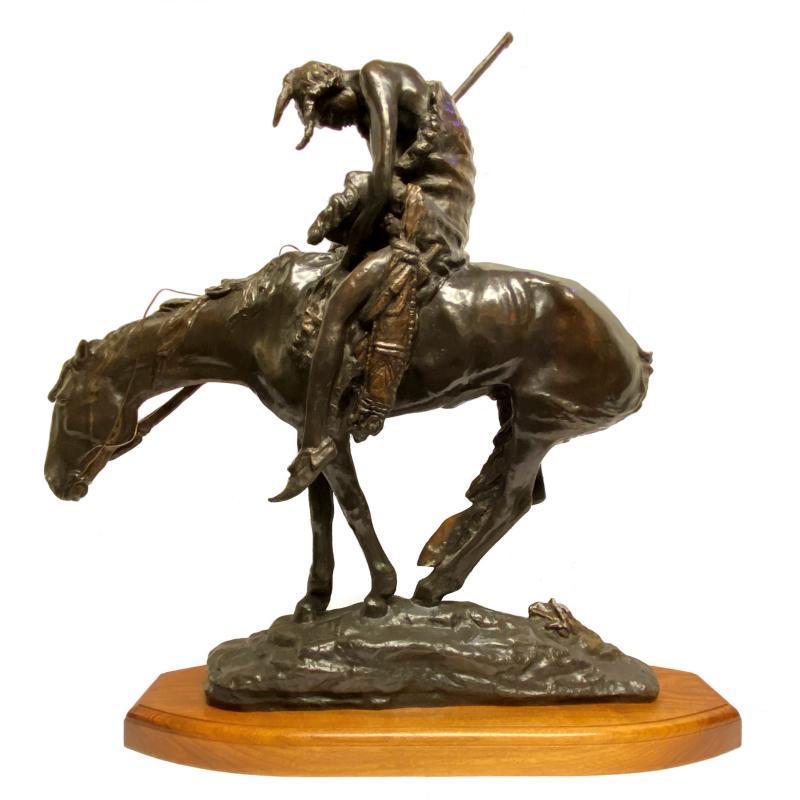 End of the Trail Bronze Sculpture After James Earl Fraser