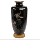 Japanese Meiji Period Cloisonne Vase (39 in, 99 cm)