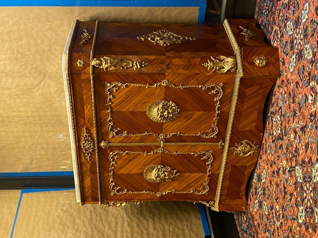 Louis XVI Style Side Cabinet Sideboard Commode