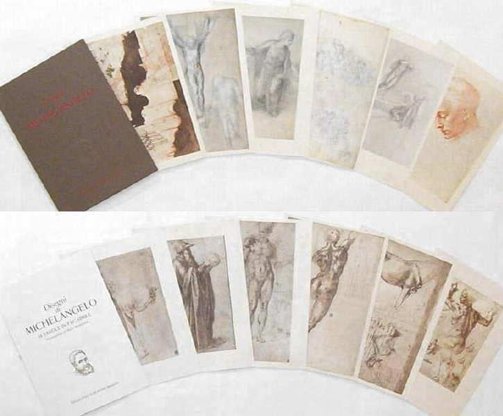 Wholesale Lot of 500 Print Folios After Michelangelo by Amilcare Pizzi