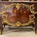 Louis XV Style Gilt Bronze Mounted Commode Chest of Drawers