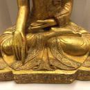 Mandalay Gilt and Jeweled Buddha
