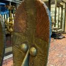 Osseyba Reliquary Guardian Figure from Bakota (Kota), Mahongwe Tribe, Gabon